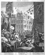 Hogarth engraving of 'Beer Street'