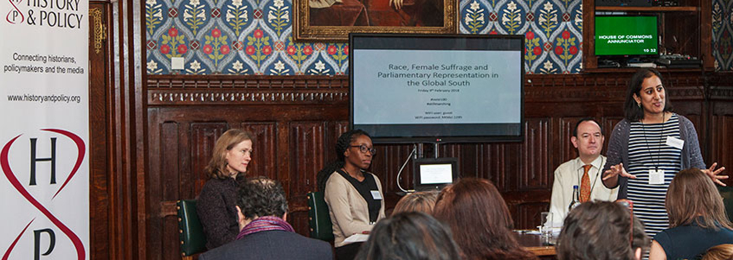 Race, Female Suffrage, and Parliamentary Representation in the Global South